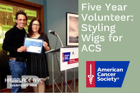 Andrew DiSimone Honored by the American Cancer Society