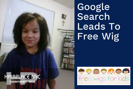 Google Search Helped us Find Free Wig at HairPlaceNYC