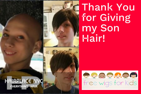 HairPlaceNYC Gives Free Wig to Teenager Boy