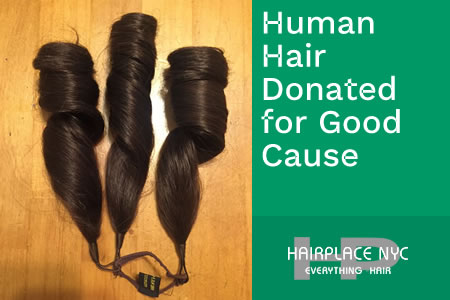 Human Hair Donated for Wigs